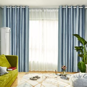 Sassi Blockout Eyelet Curtain 165x220cm