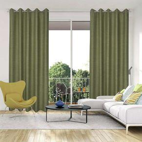 Leicester Room Darkening Eyelet Curtain 165x220cm