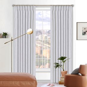 Lincoln Room Darkening Pinch Pleat Curtains