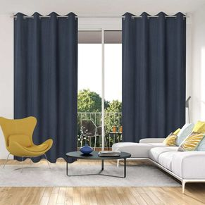 Linden Uncoated Eyelet Curtain 140x220cm