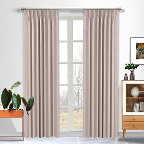 Morocco Blockout Pinch Pleat Curtains