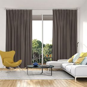 Oregon Blockout Pinch Pleat Curtains