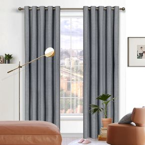 Phoenix Blockout Eyelet Curtain 165x220cm