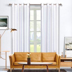 Surat Blockout Faux Silk Eyelet Curtain 140x220cm