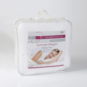 Summer Weight Quilt White