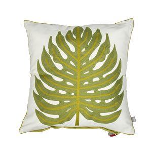 Monstera Cushion