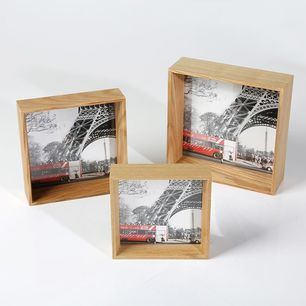Timber Photo Frame Natural