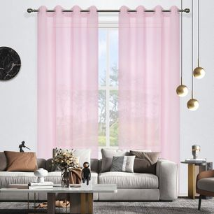 Candy Sheer Eyelet Curtain 140x220cm
