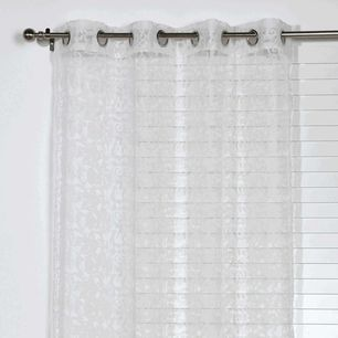 Conventry Lace Sheer Eyelet Curtain 140x220cm