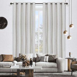 Lincoln Room Darkening Eyelet Curtain