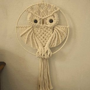 Handmade Owl Wall Hanging
