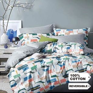 Symmetric Quilt Cover Set