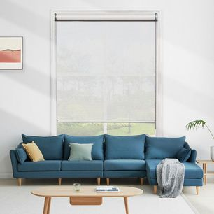 Modest Light Filtering Roller Blinds