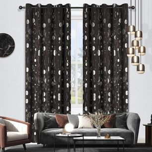 Ring Room Darkening Eyelet Curtain 220cm & 250 drop