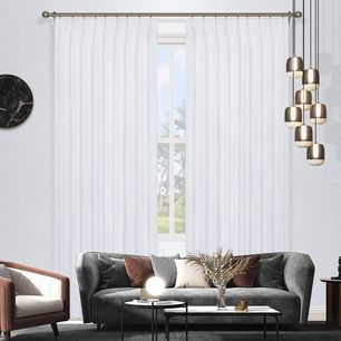 Omagh Room Darkening Pinch Pleat Curtains