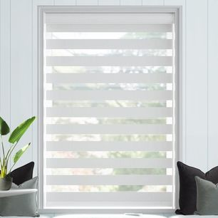 Chevron Zebra Light Filtering Blinds