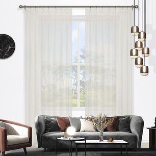 Tuscan Sheer Pinch Pleat Curtain