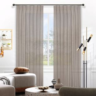 Harper Sheer Pinch Pleat Curtains