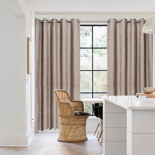 Andorra Blockout Eyelet Curtain 165x220cm