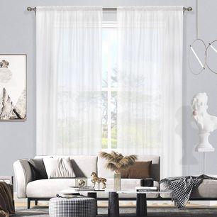 Madison Sheer Rod Pocket Curtain