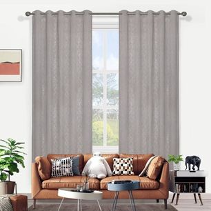 Lace Sheer Eyelet Curtain 165x220cm