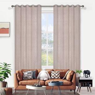 Lace Sheer Eyelet Curtain 165x220cm