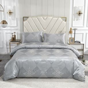 Jacquard Quilt Cover Set