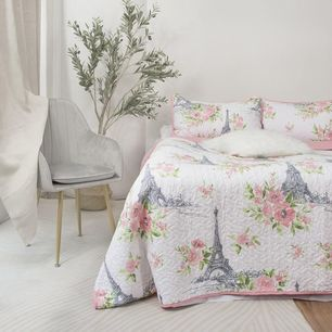 French Love Coverlet Set