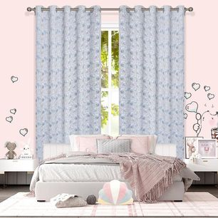 Bunny Room Darkening  Eyelet Curtain 220cm Drop