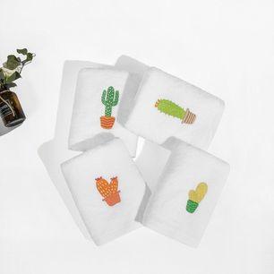 Cactus Pattern Towel