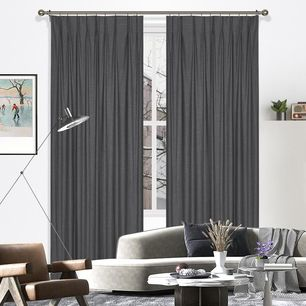Marquee Blockout Pinch Pleat Curtain