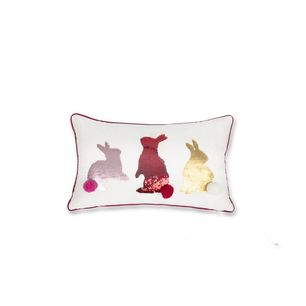 Three Rabbits Cushion
