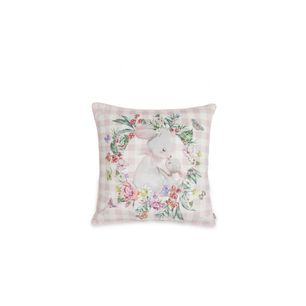 Bow Checkered Cushion