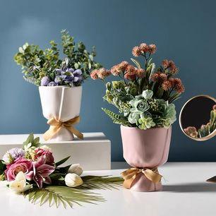 Bow Flower Pot