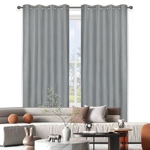 Taja Blockout Eyelet Curtain 138x220cm