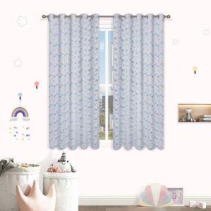 Bunny Room Darkening  Eyelet Curtain 220cm Drop