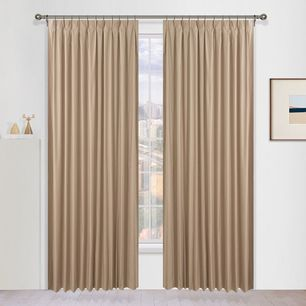 Strathmore Blockout Pinch Pleat Curtains
