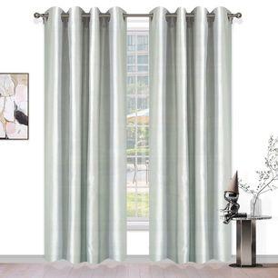 Charmeuse Uncoated Eyelet Curtain 138x220cm