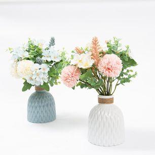 Textured Ceremic Vase