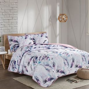 Feather Coverlet Set