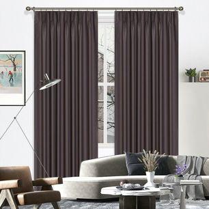 Savanna Room Darkening Pinch Pleat Curtains