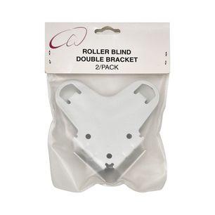 Double Roller Blind Brackets