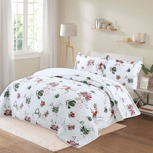 Chrysan Coverlet Set