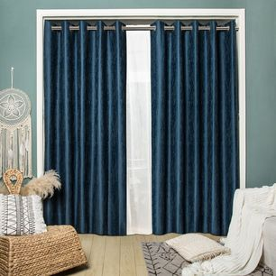 Colorado Blockout Eyelet Curtain 165x220cm