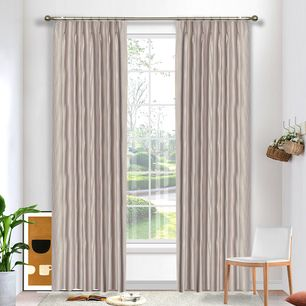 Contour Blockout Pinch Pleat Curtains