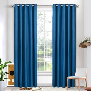 Fresco Blockout Eyelet Curtain 220cm & 250cm Drop