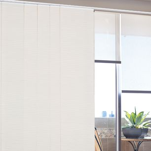 Java Room Darkening Panel Glide Fabric Panel