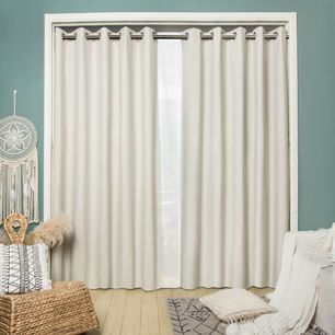 Lawson Blockout Eyelet Curtain 165x220cm