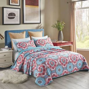 Mandala Coverlet Set