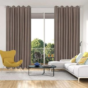 Oregon Blockout Eyelet Curtain 220cm & 250cm Drop